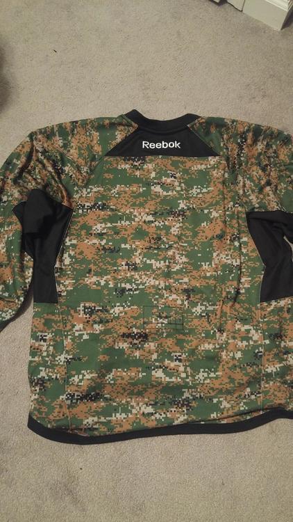 anaheim ducks military jersey