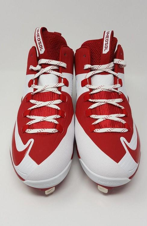 the latest a1c74 85e22 Nike Air Max MVP Elite MCS Red White Men s Cleats 684687-610 Size 12    EXPIRED   Baseball Footwear   SidelineSwap