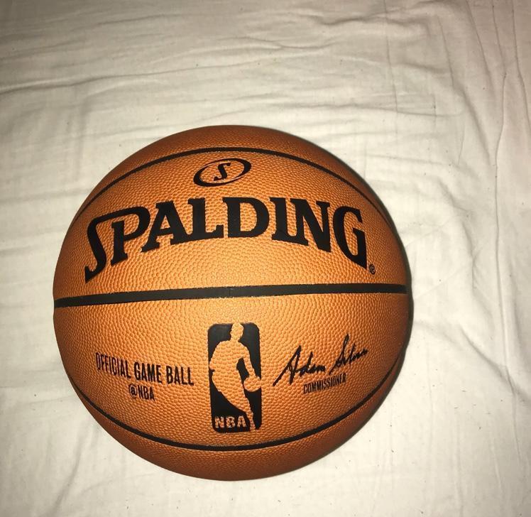 d201a9143ed Spalding NBA Official Game Ball Basketball