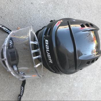 9f87348656b Bauer Youth Helmet With Full Face Shield