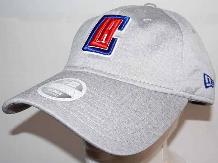 LOS ANGELES LA CLIPPERS GREY SLOUCH HAT BASKETBALL OEM NEW ERA WOMEN S ONE  SIZE  21e10abad54