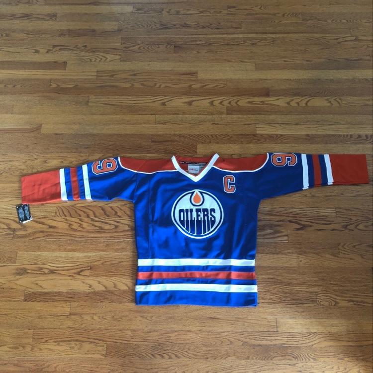 check out 417b3 ce7d6 Wayne Gretzky Oilers Jersey