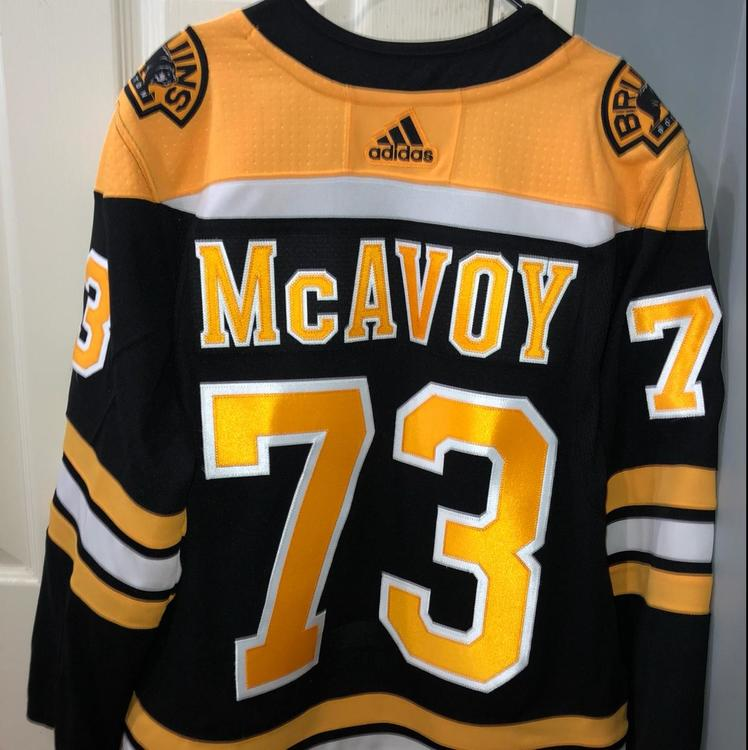 brand new 54321 52c9d Charlie Authentic Bruins Boston Jersey Mcavoy roguish ...