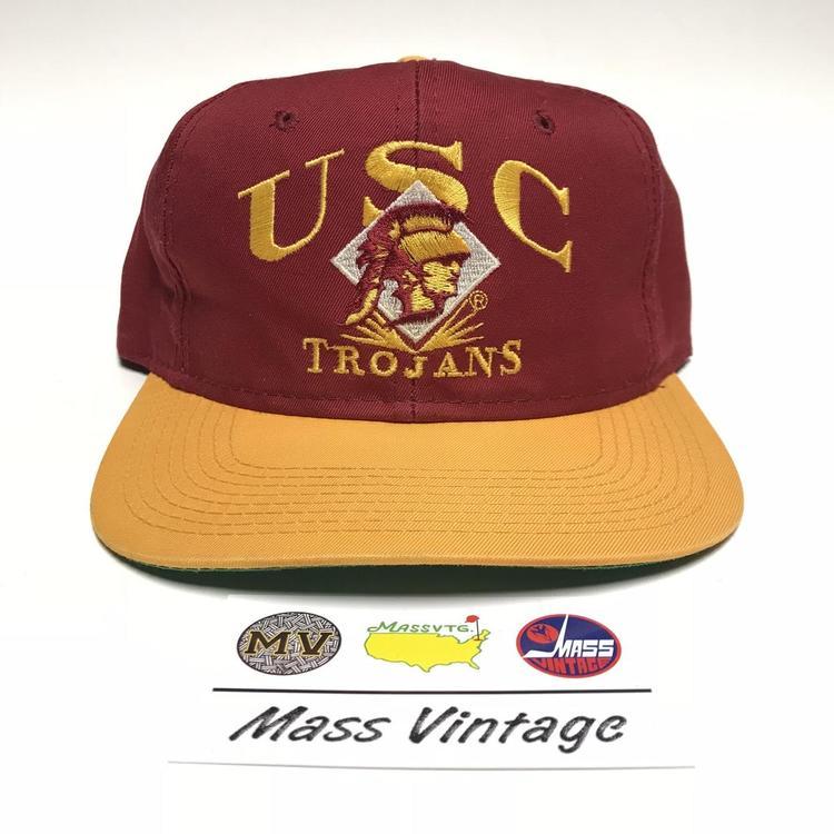 a14dd694c7603 ... where to buy vtg usc trojans snapback hat sold 7e15b 49695