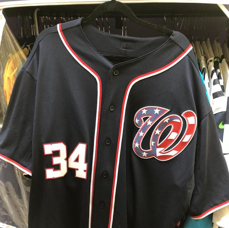 factory price e5c22 404a2 Washington Nationals Bryce Harper Jersey