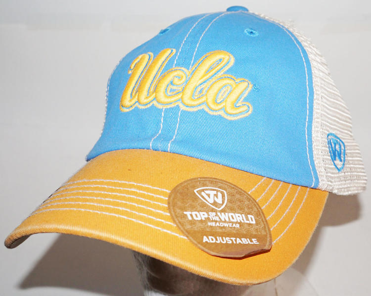 3f6562eb8 UCLA CAP - SLOUCH HAT NCAA COLLEGE TEAM OEM TOP OF THE WORLD ONE SIZE