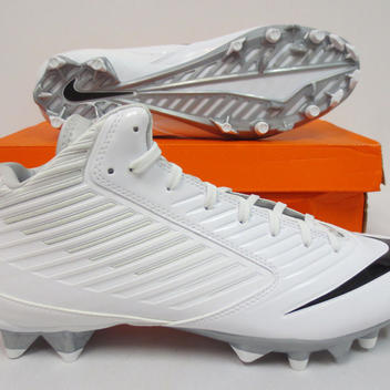 finest selection 4ad78 e3687 Nike NEW VAPOR SPEED TD CLEATS ICY WHITE SIZE 14   SOLD   Football ...