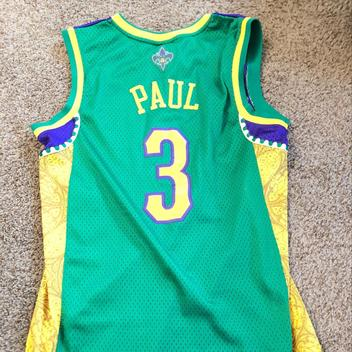 buy online 8e34f 88202 real chris paul new orleans jersey 9a234 c059e