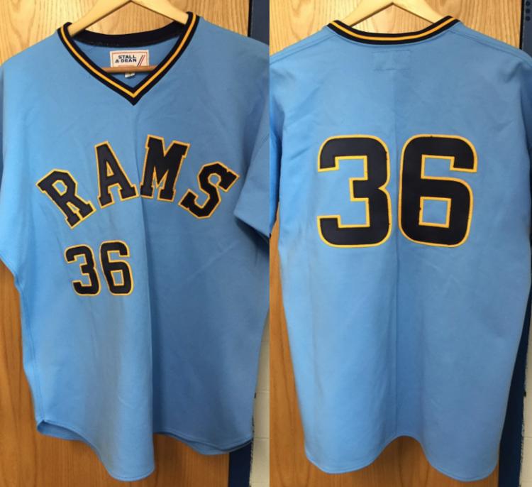 newest 10742 f924b University of Rhode Island Blue/Yellow Game Jersey