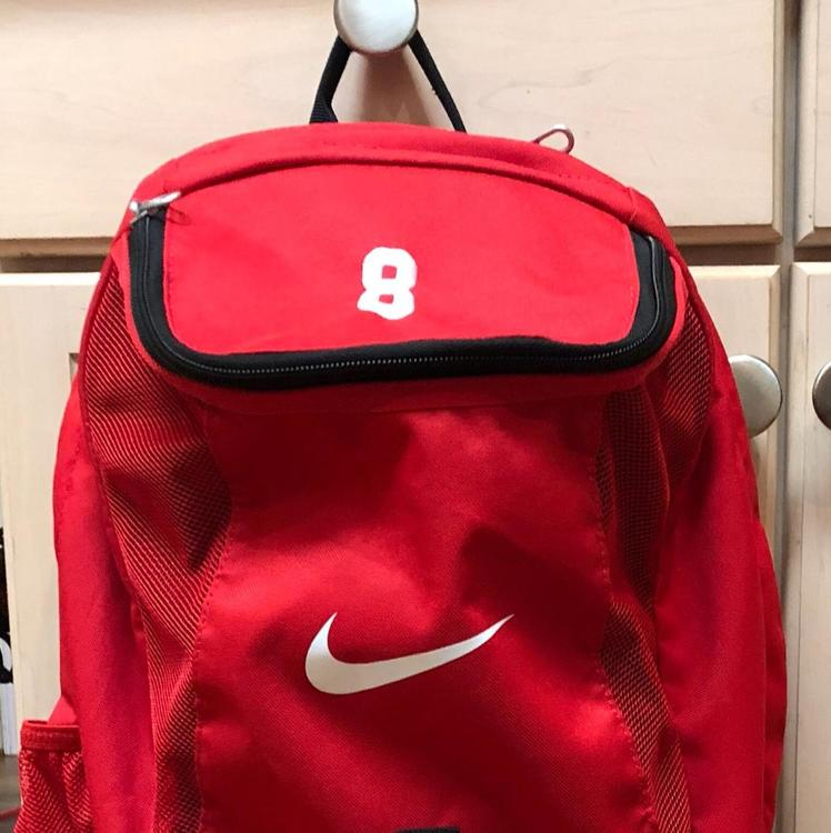 d50f4b140 Nike Backpack Red | SOLD | Soccer Training, Accessories & Other ...