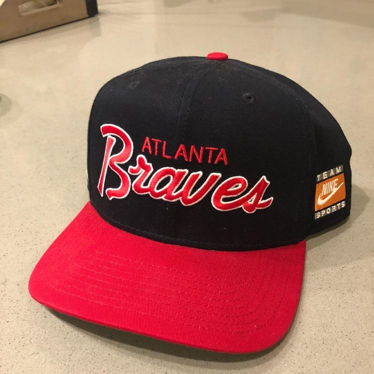 9df0dfeb ... cheap nike atlanta braves adjustable snapback hat sold f3ddc 54ac3