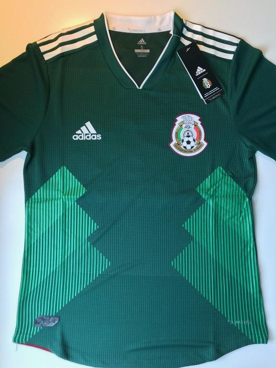 e1c77665a New Adidas MEXICO HOME PLAYER FIFA WOLD CUP SOCCER JERSEY. Related Items
