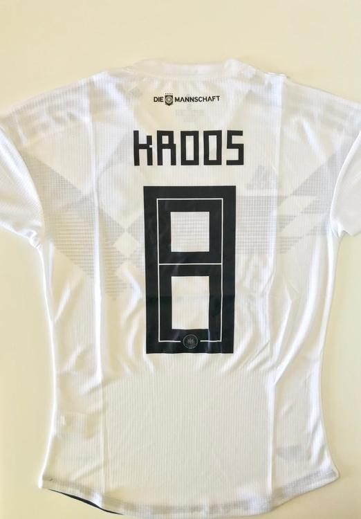 d55b353a54b New GERMANY KROOS 8 ADIDAS HOME PLAYER SOCCER JERSEY SIZES AVAILABLE (S