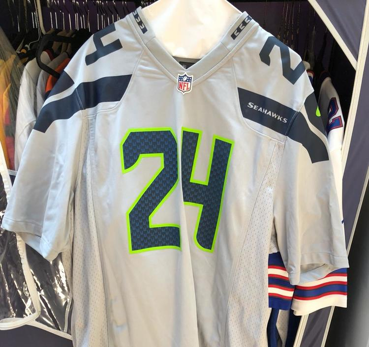 653b2a9a Seattle Seahawks Marshawn Lynch Authentic Jersey