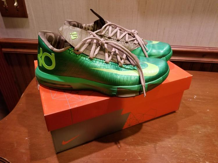 0f71434628a Nike KD 6 Bamboo Size 10.5 With Box