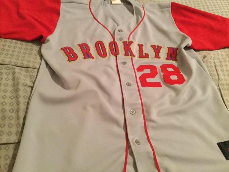 77d5878d8 Rawlings Vintage Game Worn Brooklyn Cyclones Jersey Size 44 ...