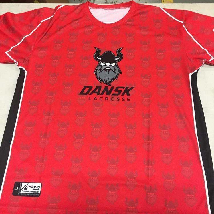 cb8d3a3cc2d74 LAST ONE --Denmark Shooter Shirt #21 | Lacrosse Apparel | SidelineSwap