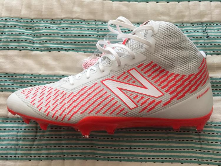 96c6f4aa775c8 Size 14-Limited Edition World Series of Youth Lacrosse New Balance Burn X  Mid Cleats