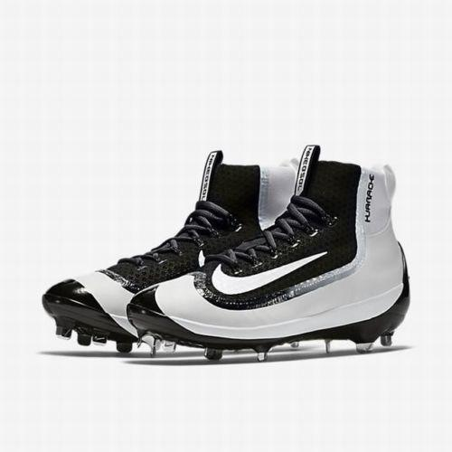 new styles a5357 11900 Nike Air Huarache 2KFilth Elite Mid Black White 749359 010 Metal Baseball.  Related Items