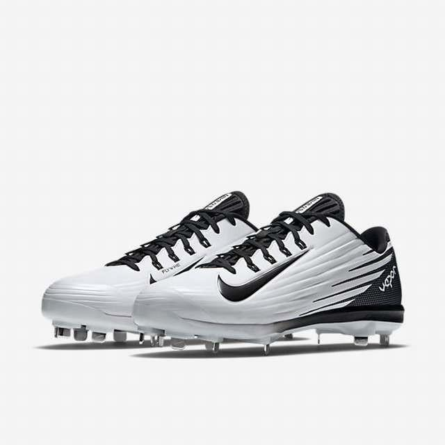 best service 3ee83 f1763 Nike Lunar Vapor Pro Low sz 12.5 Metal Baseball Cleats 683895 101 White  Black. Related Items