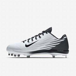 28ce87d51 Nike Lunar Vapor Pro Low sz 12.5 Metal Baseball Cleats 683895 101 White  Black