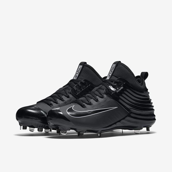 ef5902819019 Nike Lunar Trout 2 Metal sz 13 Black 807127 002 Zoom Vapor Pro Huarache  Flywire