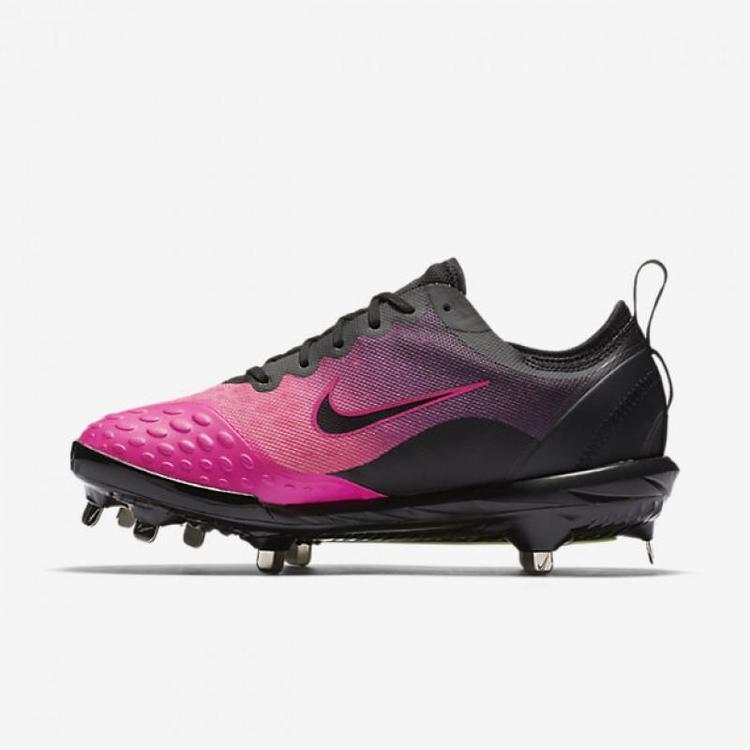 8191e23e6 Nike Lunar HyperDiamond 2 Elite sz 12 Cleats Pink Black 856433 060 |  Softball Footwear | SidelineSwap