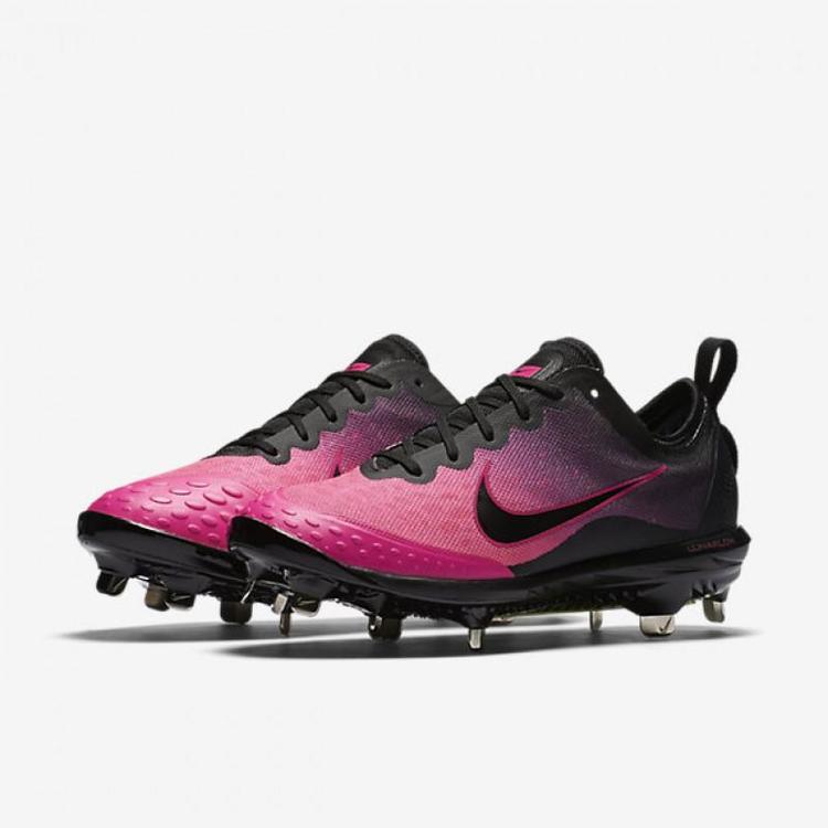 6e631184b5c6 Nike Lunar HyperDiamond 2 Elite sz 11 Softball Cleats Pink Black 856433  060. Related Items