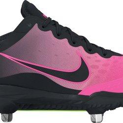 2ec83da43 Nike Lunar HyperDiamond 2 Elite sz 12 Softball Cleats Pink Black 856433 060.  Related Items
