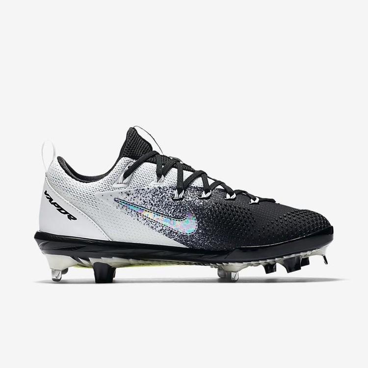 sale retailer 699a7 9d07c Nike Lunar Vapor Ultrafly Elite sz 9.5 Black 852686 100 Metal Hybrid   SOLD    Baseball Footwear   SidelineSwap