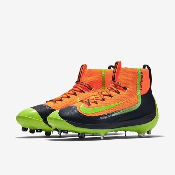 quality design f6e17 11893 Nike Air Huarache 2KFilth Elite Mid sz 11 Orange Volt 749359 870 Metal  Baseball. Related Items
