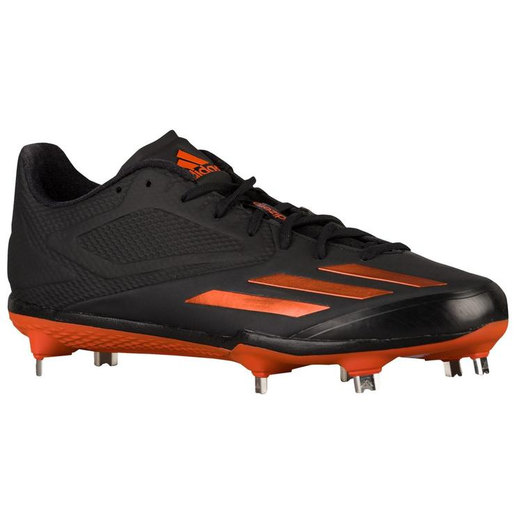 big sale c085f 88c00 Adidas Adizero Afterburner 3 sz 13.5 Orange Black Q16562 Baseball Cleats 5  Star. Related Items