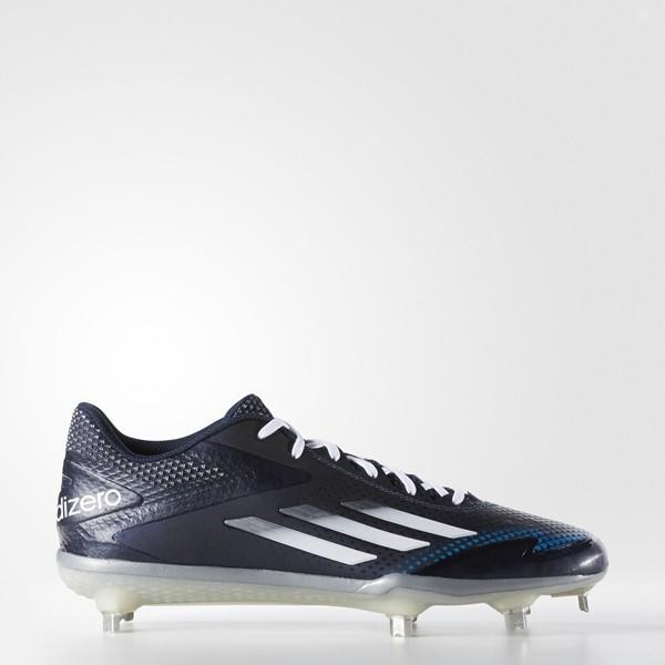 sale retailer eac48 8296e Adidas Afterburner 2.0 sz 12 S84704 Navy White Metal Cleat   Baseball  Footwear   SidelineSwap