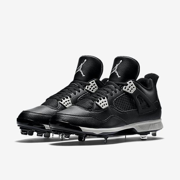 a58fa0347d353 Nike Air Jordan IV 4 Retro sz 14 Oreo Metal Baseball Cleat Black 807710  010. Related Items