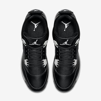 2afe813445b Nike Air Jordan IV 4 Retro sz 14 Oreo Metal Baseball Cleat Black 807710 010