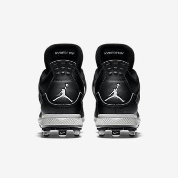 2d2ff61781b0 Nike Air Jordan IV 4 Retro sz 14 Oreo Metal Baseball Cleat Black 807710  010. Related Items