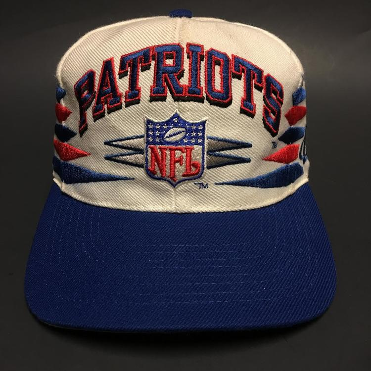 Vintage New England Patriots Snapback by Logo Athletic - SOLD 00ca66fc2ee