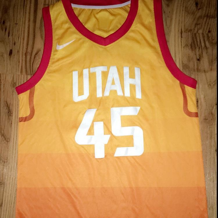 save off 44e9c 87238 Donovan Mitchell Nike Jersey (City Edition)