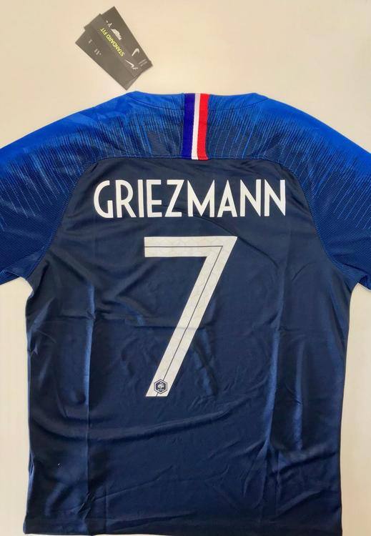 5a0a06864 Nike New GRIEZMANN FRANCE FIFA WOLD CUP CHAMPION 2018 HOME JERSEY ...