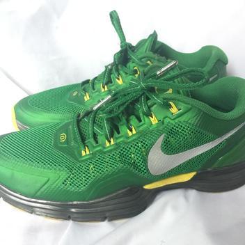 the latest 2dc62 8af8d Oregon Ducks Nike Lunar TR1 Apple Green Sz. 9.5