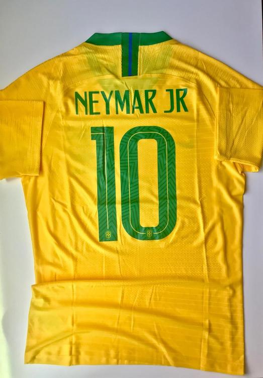 473ebbb28 New BRAZIL NEYMAR JR Nike FIFA WOLD CUP HOME PLAYER SOCCER JERSEY. Related  Items