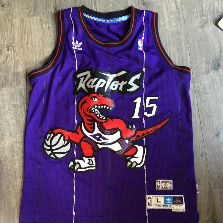 online store 58176 98c4a Vintage Vince Carter Raptors Jersey