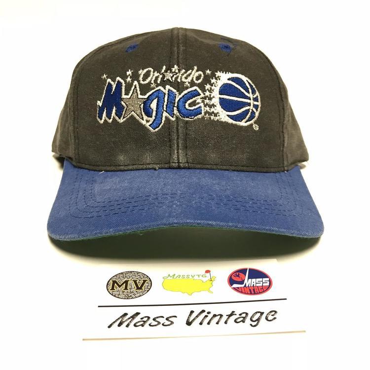 Vintage Orlando Magic Twill Snapback Hat - EXPIRED e7c0bd3ec4ec