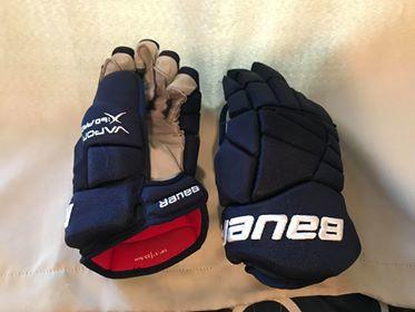 Mike Fisher Bauer Vapor X60 Pro Gloves