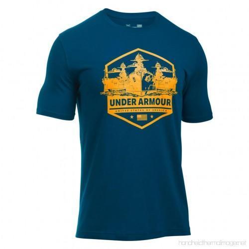 02bcdc17 Under Armour Freedom by Sea T-Shirt sz M MEDIUM 1290488 997 United States  Navy