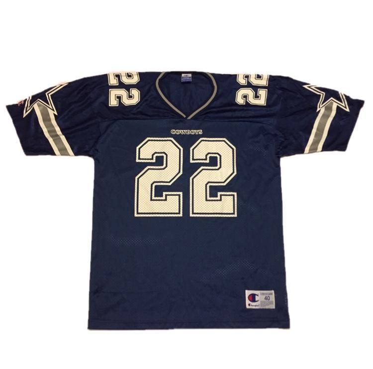 competitive price 6b9c3 14bc0 Vintage Dallas Cowboys Emmitt Smith Jersey