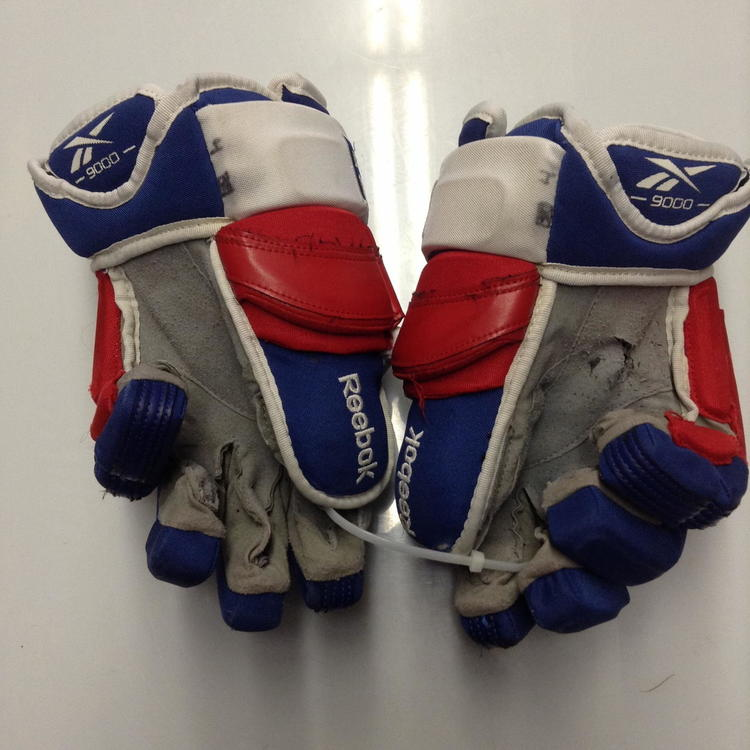 Reebok 90pr Pro Stock Custom 14 Quot New York Rangers Used