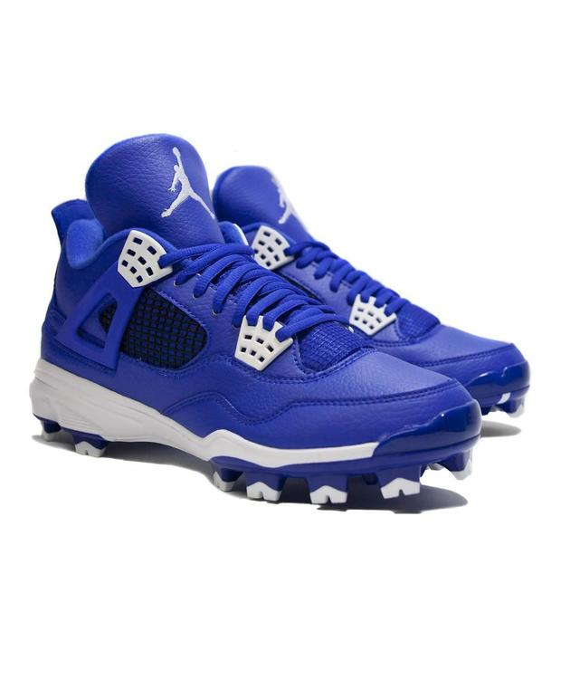 buy online 53a3e c7e10 Air Jordan 4 IV Retro MCS sz 15 Baseball Cleat Game Royal Blue 807709 401  Molded. Related Items