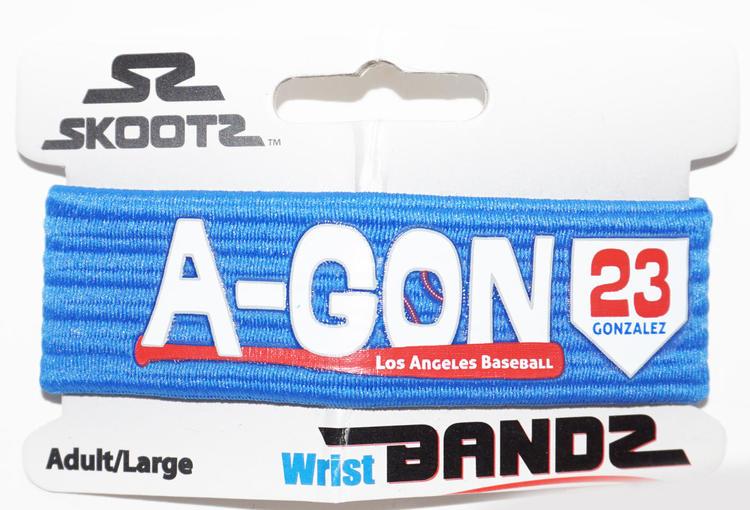 Large Skootz Bandz Bracelet Los Angeles La Dodgers A Gon Gonzalez