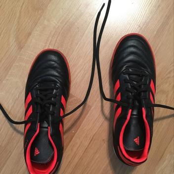 3be0d8afa Adidas Copa Tango 17.3 Indoor Soccer Shoes (Black Solar Red) Size 7 Men s